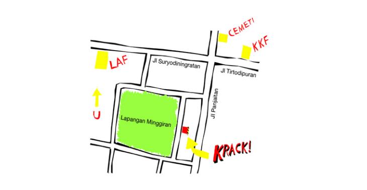 Map courtesy of Krack! Studio's website at www.krackstudio.com