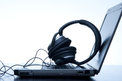 digital music recording and playback from a computer
