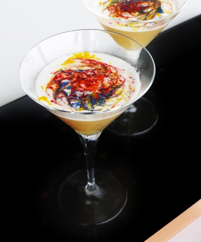 Aura - Yayoi Kusama Rainbow Palette Cocktail